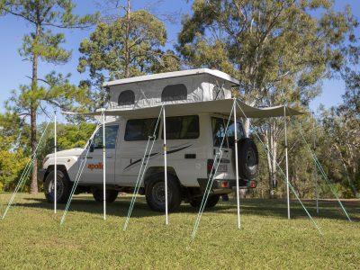 Véhicule 4x4 tout terrain Apollo Trailfinder 4wd en Australie
