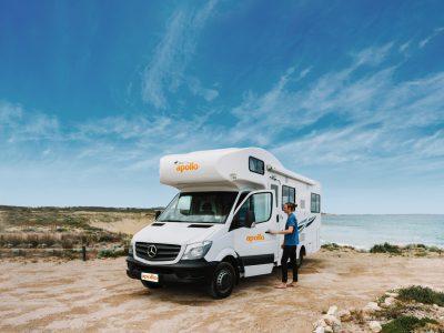 Camping Car Apollo Euro Deluxe en Australie