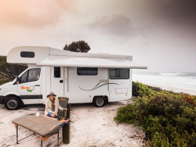 Camping Car Britz Frontier en Australie