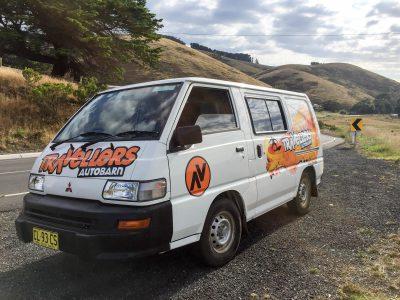 Van Travellers Autobarn Budgie Van en Australie