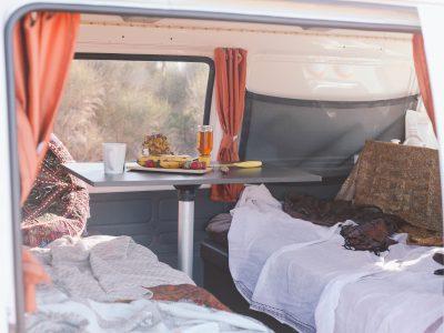 Van Travellers Autobarn Budgie Van en Australie - Intérieur