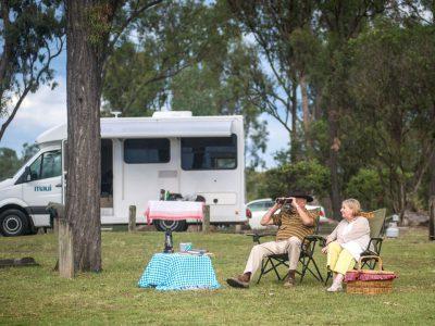 Camping Car Maui Cascade en Australie