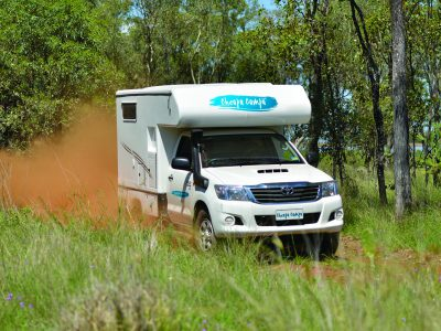 Campervan tout terrain Cheapa Campa 4wd en Australie