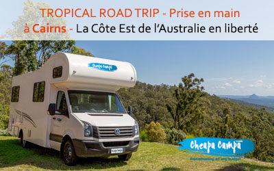 20% de réduction sur votre location de van ou camping-car Cheapa Campa en Australie