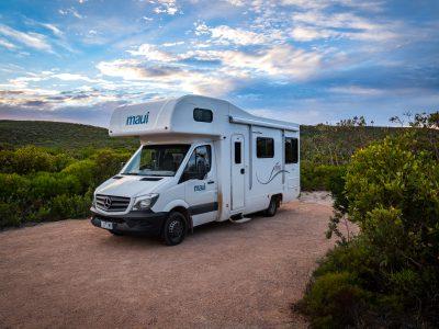 Camping Car Maui River en Australie