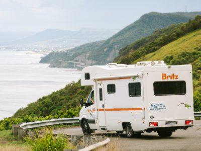 Camping car Britz Explorer en Australie