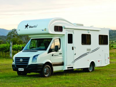 Camping car StarRV Hercules en Australie